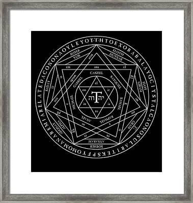 Goetia Framed Print