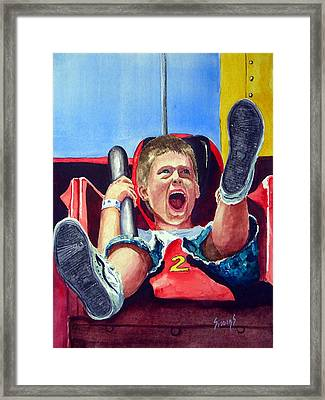 Goin' Down Framed Print by Sam Sidders