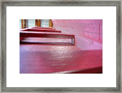 Goin Up Framed Print by Terry Anderson
