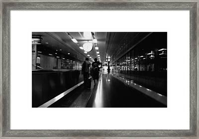 Going Away Framed Print