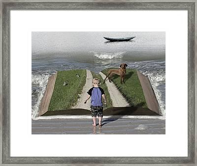 Going Back Home Framed Print