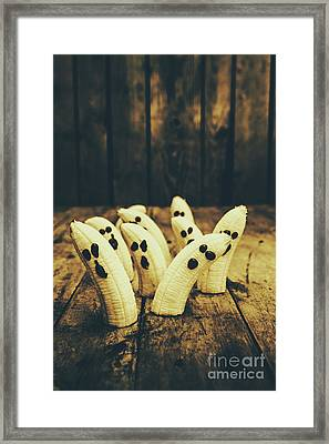 Going Bananas Over Halloween Framed Print by Jorgo Photography - Wall Art Gallery