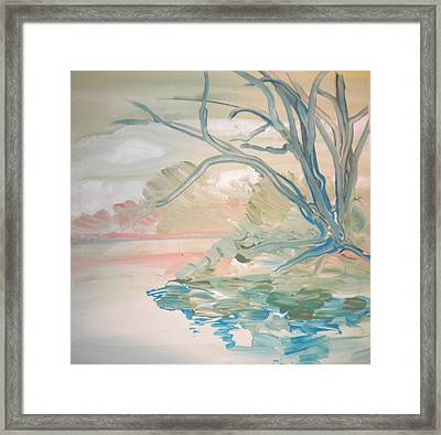 Going Fishing By Sidney  Framed Print by Art Without Boundaries