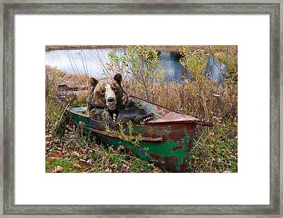 Going Fishing Framed Print by Maria Dryfhout