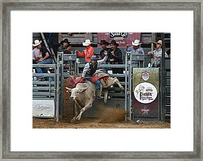 Going For 8 Framed Print by Bill Keiran