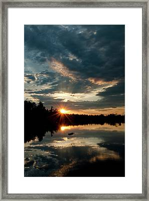 Going Going Framed Print by Greg Fortier