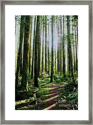 Going Green Framed Print by Dean Edwards
