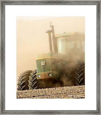 Going Green Framed Print by Everett Bowers