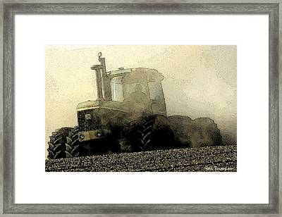 Going Green II Framed Print by Everett Bowers