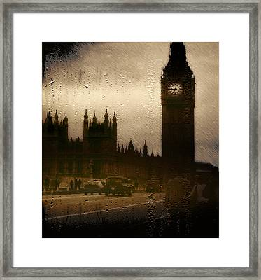 Framed Print featuring the digital art Going Home  by Fine Art By Andrew David