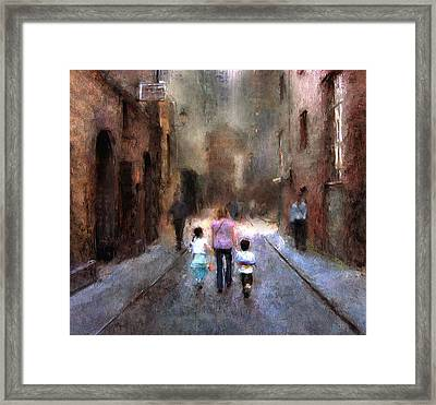 Going Home Framed Print by Declan O'Doherty