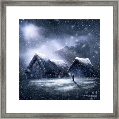 Going Home For Christmas Framed Print by Svetlana Sewell