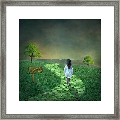 Going Home Framed Print by Ian Barber