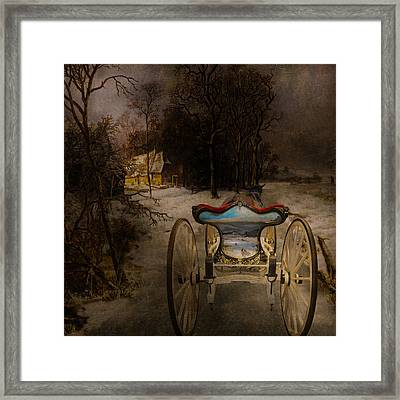 Going Home Framed Print by Jeff Burgess