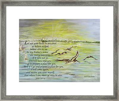 Going Home John 14 Framed Print
