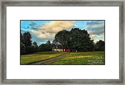 Going Home Framed Print by MaryLee Parker