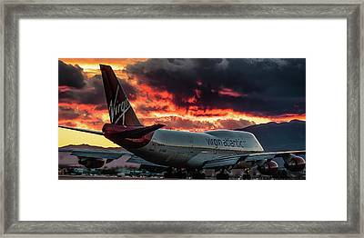Framed Print featuring the photograph Going Home by Michael Rogers