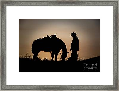 Going Home Framed Print by Sandra Bronstein