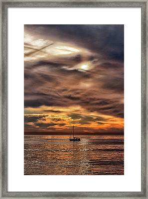 Going It Alone Framed Print
