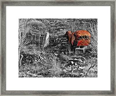Going No Where Soon Framed Print
