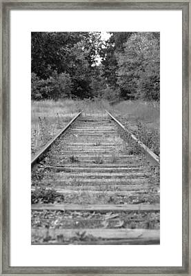Framed Print featuring the photograph Going Nowhere by Corinne Rhode