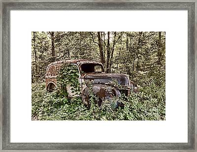Going Nowhere Framed Print