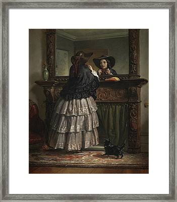 Going Out  Framed Print by Philip Hermogenes Calderon