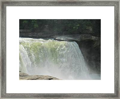 Going Overboard Framed Print by Raven Moon