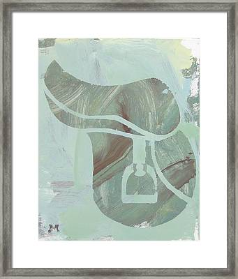 Going Riding? Framed Print