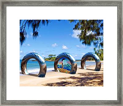 Going Somewhere Framed Print by Snake Jagger