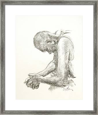 Going Through It Framed Print by Brian Moore