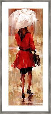 Going Through Framed Print by Matthew Myles
