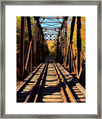 Going Thruogh Framed Print