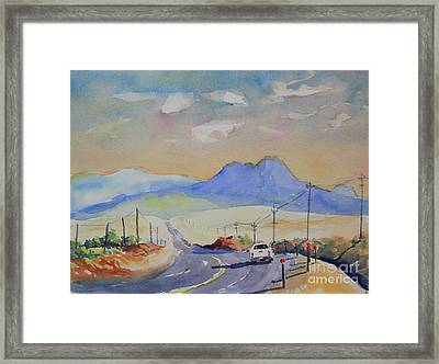Going To Alpine Framed Print