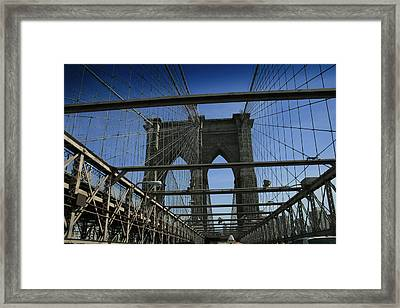 Going To Brooklyn Framed Print
