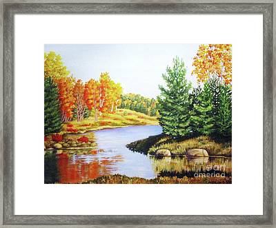 Framed Print featuring the painting Going To Killarney by Inese Poga