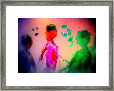 One Of These Nights We Will Be Going To Another Nachspiel Together  Framed Print by Hilde Widerberg