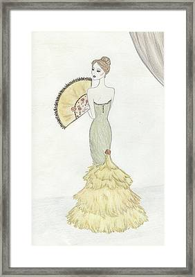 Going To The Ball Framed Print by Christine Corretti
