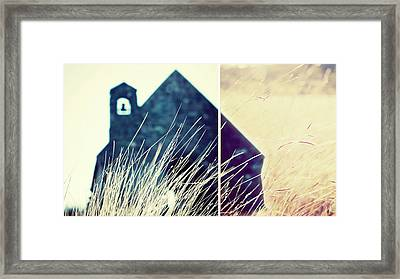 Going To The Chapel Framed Print by Linde Townsend