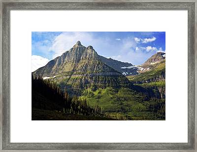 Going To The Sun 1 Framed Print by Marty Koch