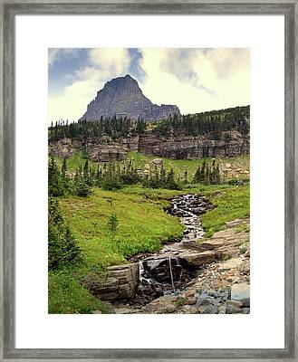 Going To The Sun 3 Framed Print by Marty Koch