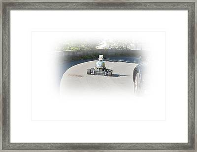 Going To Town Framed Print by Daniel Furon