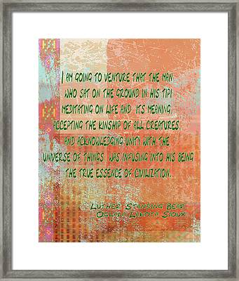 Going To Venture Framed Print by Paulette B Wright