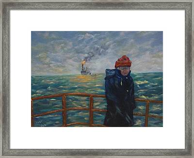 Going To Work Framed Print by Douglas Ann Slusher