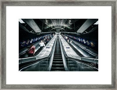 Going Underground Framed Print