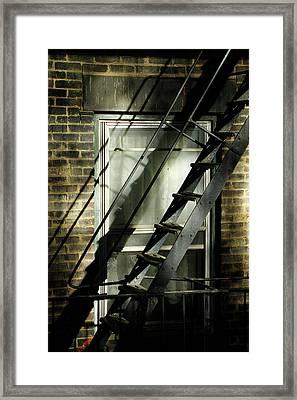Going Up Framed Print