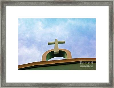 Going Up Framed Print by Debbi Granruth