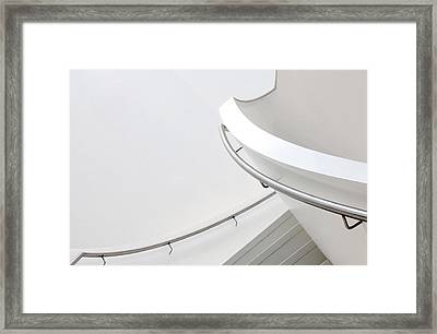 Going Up Framed Print by Jeroen Van De Wiel