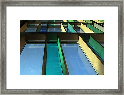 Going Up Framed Print by Jez C Self