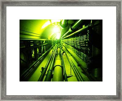 Going Up Framed Print by Norman Kraatz